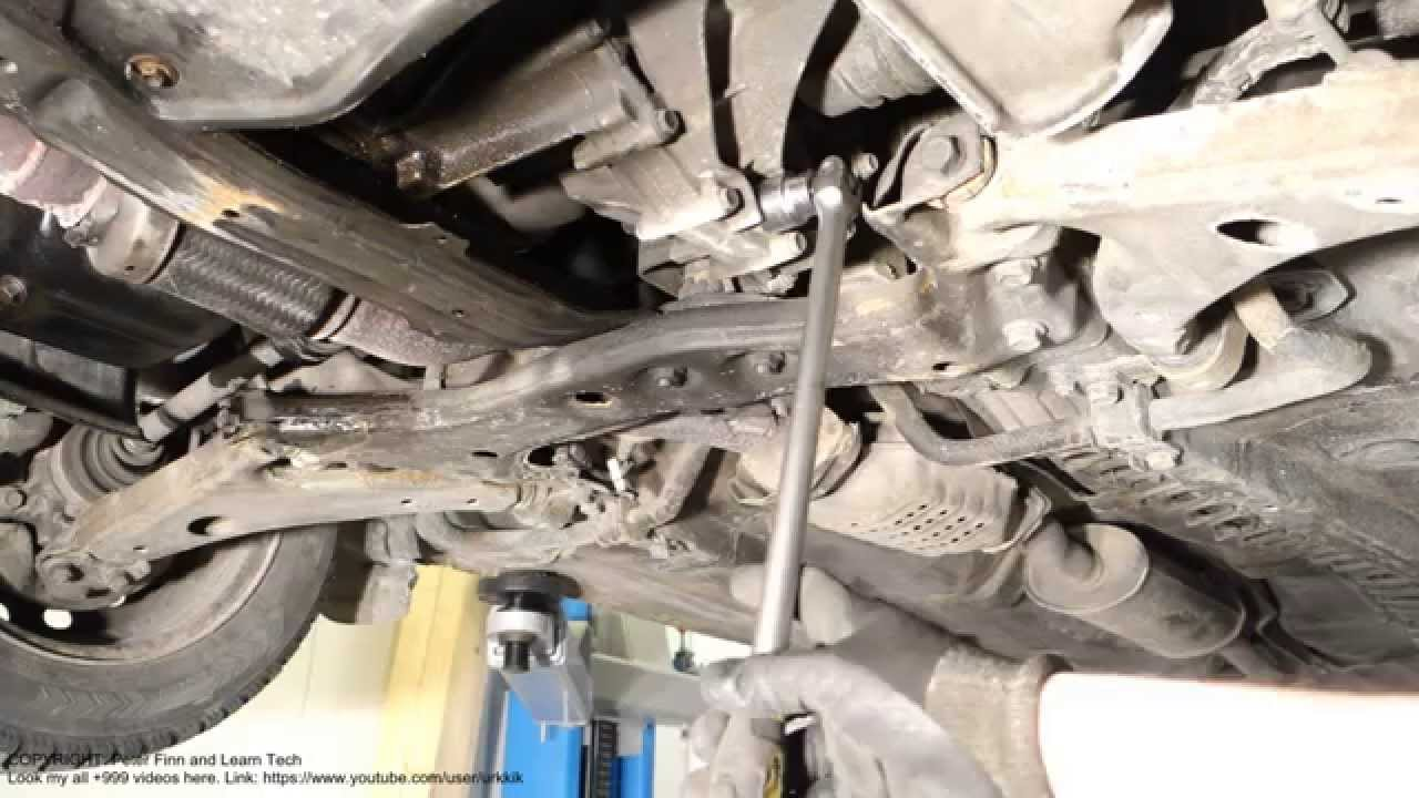 Watch on image of 1991 toyota camry oil plug
