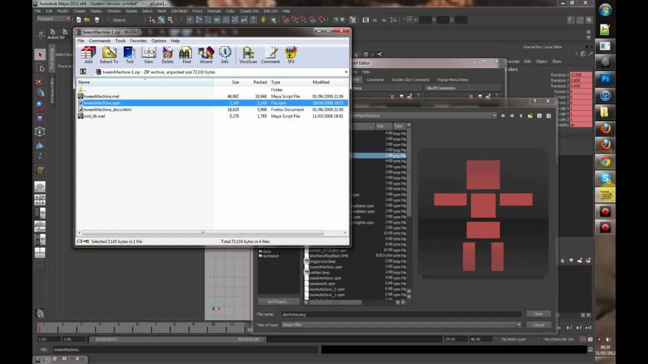 AnimSchoolBlog: 3 Free Maya Plugins For A Better Workflow