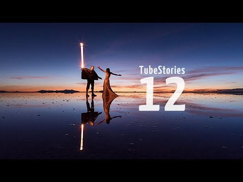 How to create light-painting trails using Adobe Premiere - Tube Stories 12