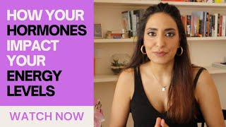 Learn exactly HOW your HORMONES affect your ENERGY LEVELS over your 28 day cycle | Kesar Andrews