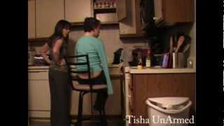 armless kitchen: tisha unarmed cooks a meal