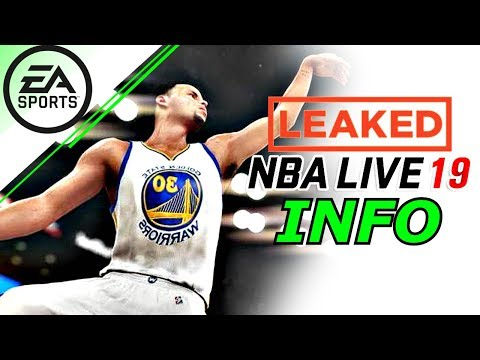 NBA Live 19 FIRST OFFICIAL LEAKED 5V5 GAMEPLAY DETAILS SIGNATURE PLAYER DRIBBLES AND ANIMATIONS