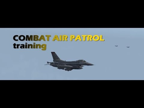 Falcon BMS - Combat Air Patrol training - 31st VFS
