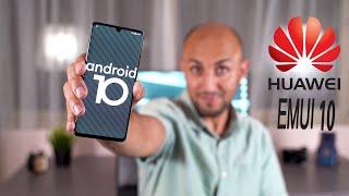 إستعراض واجهة هواوي EMUI 10 مع Android Q