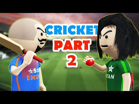 3D ANIM COMEDY - LAST OVER || CRICKET || INDIA Vs PAKISTAN || PART 2