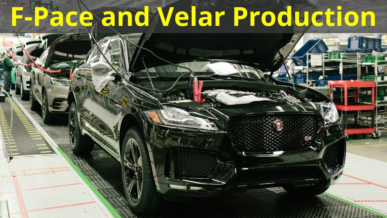 Range Rover Velar And Jaguar F-Pace Production