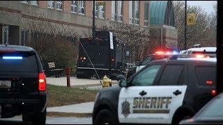 Police officer kills gunman during shooting at Md high school