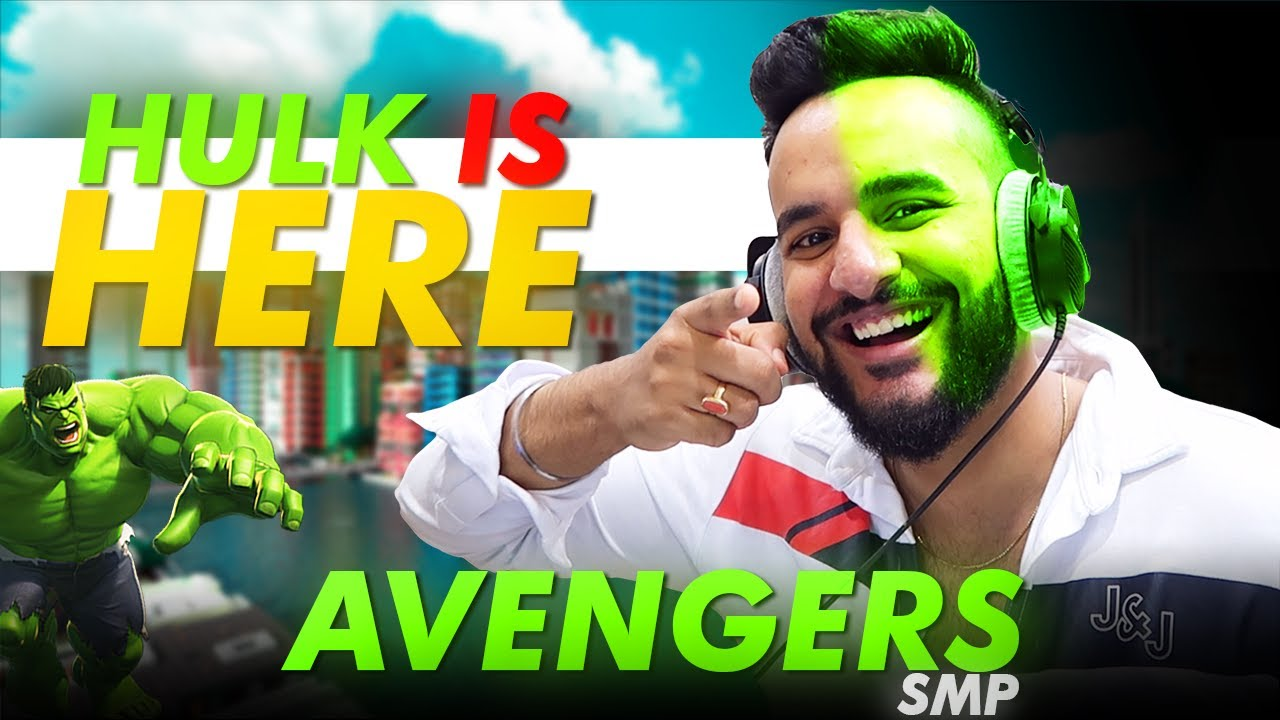 HULK IS HERE in Avengers SMP !!