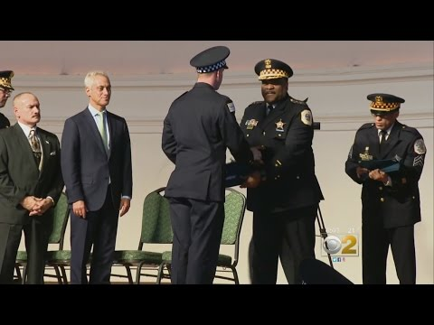 New Cops Graduate Amid Chicago Police Department Scrutiny