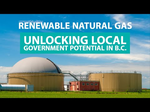 Renewable Natural Gas: Unlocking Local Government Potential In British Columbia