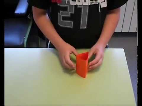 How To Make Origami Triangular Prism | Japanese Origami Tutorial Video