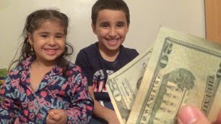 CHILD MONEY EXPERIMENT!!