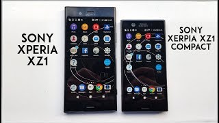 SONY XPERIA XZ1 & XZ1 COMPACT UNBOXING! (PART 1)
