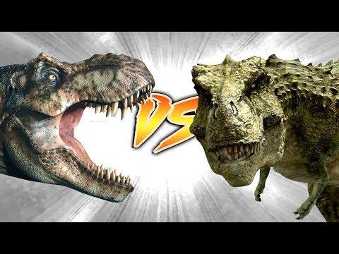 TYRANNOSAURUS REX VS TARBOSAURUS [Who Would Win?]