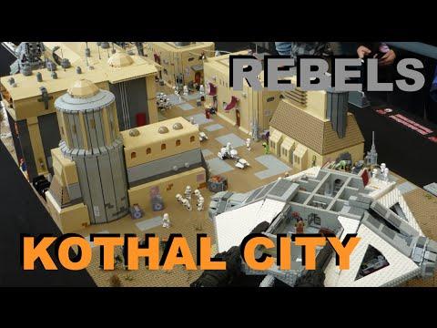 Lego Star Wars Rebels Lothal Kothal City