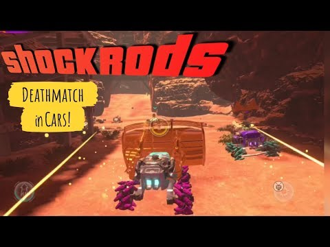 ShockRods Apple Arcade gameplay - Multiplayer Madness