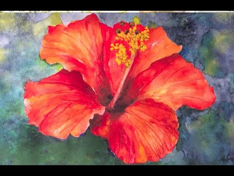 Flower Paintings for Beginners   Easy Acrylic Painting