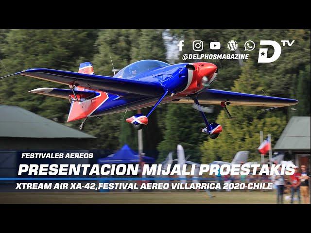Demostración de Mijali Proestakis Xtream Air XA-42 Festival Aéreo de Villarrica 2020