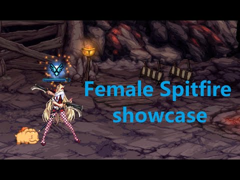 DFO Female Spitfire is a fun career to have.
