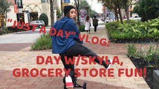DAY W/SKYLA//GROCERY STORE FUN