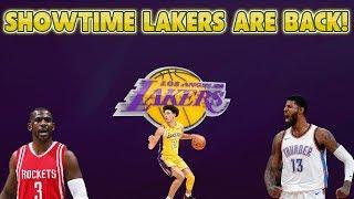 NBA 2K18 LOS ANGELES LAKERS OFFSEASON REBUILD! SHOWTIME LAKERS ARE BACK!