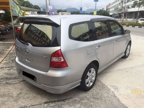 Nissan Grand Livina XV A/T 2010 - kurang kuat nanjak tapi nyaman