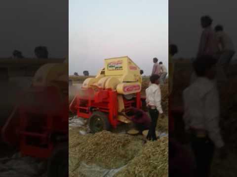 S kumar multi crop thrasher  soyabeen thrasher gobind industries Pvt ltd