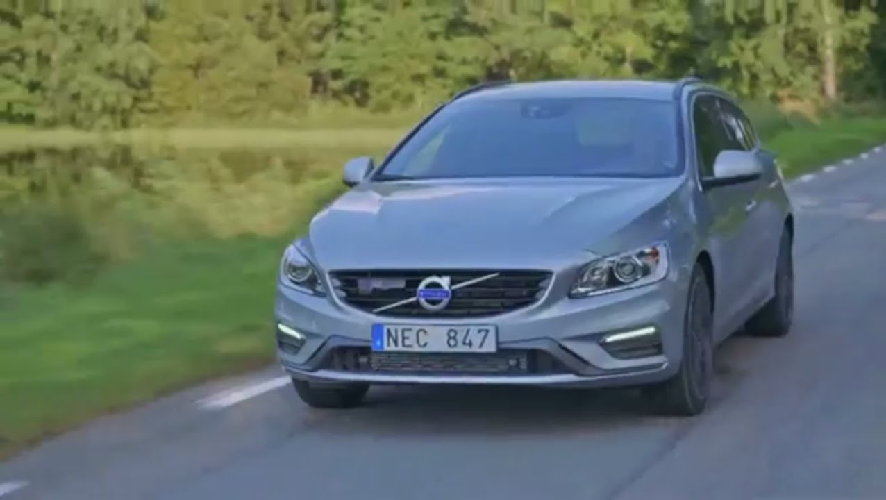 מודיעין Volvo V60 R Design, model year 2016 - YouTube YK-63