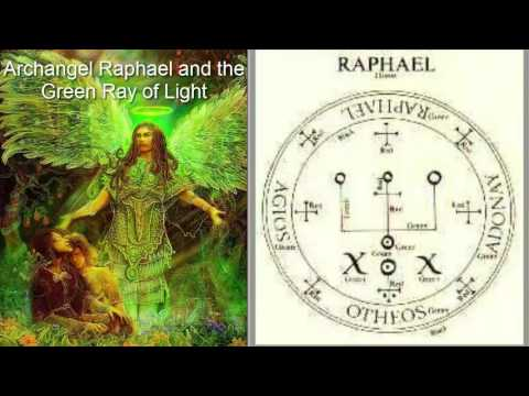 Who Is  Archangel Raphael-Archangels Names And Meanings, The Emerald Green Ray Of Light