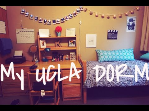 My UCLA Dorm: Room Tour: | Deluxe Double In GARDENIA | THE TRANSFER DORM |  Fall 2015 Part 38