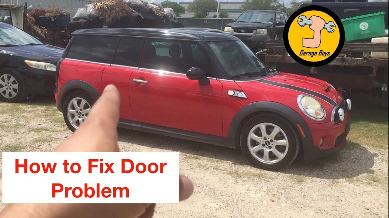 How To Fix And Open 3rd Door On Mini Cooper Clubman