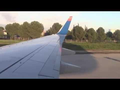 Flug Düsseldorf-Antalya // DUS-AYT // SunExpress Boeing 737-800 (TC-SUI)
