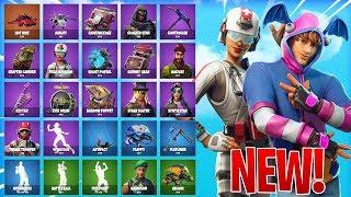 *ALL NEW* SKINS/ITEMS IN FORTNITE! - LEAKED Skins, Emotes, & MORE! (Fortnite Battle Royale)