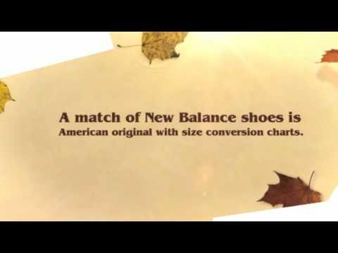New Balance Shoe Size Conversion Chart