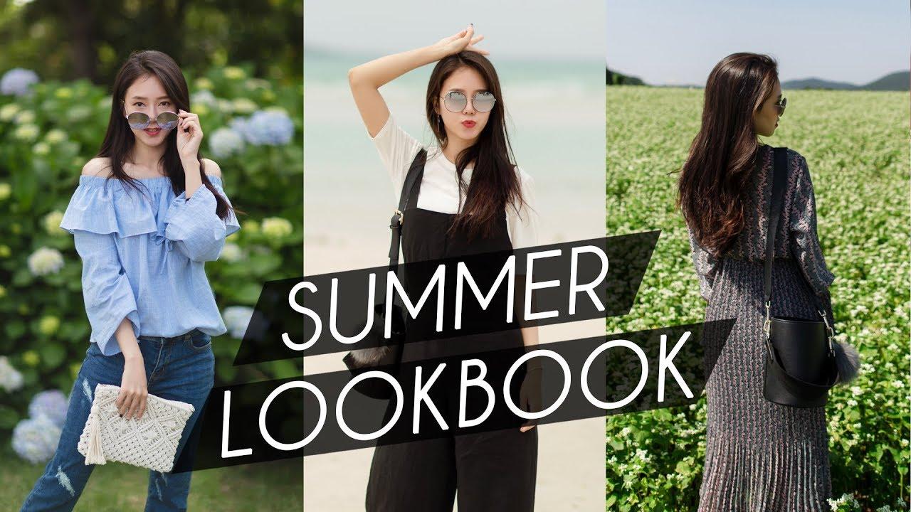 [VIDEO] - SUMMER LOOKBOOK 2018 | 여름 룩북 2018 [한글자막] 1
