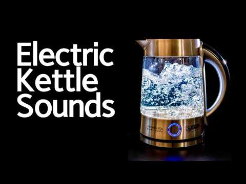 Electric Kettle Sound, Boiling Kettle, Boiling Water, Sound Effect, White Noise, 전기주전자, 백색소음, ASMR