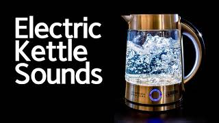 Electric Kettle Sound, Boiling…