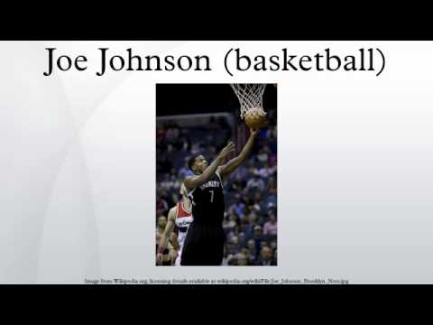 Joe Johnson (basketball)