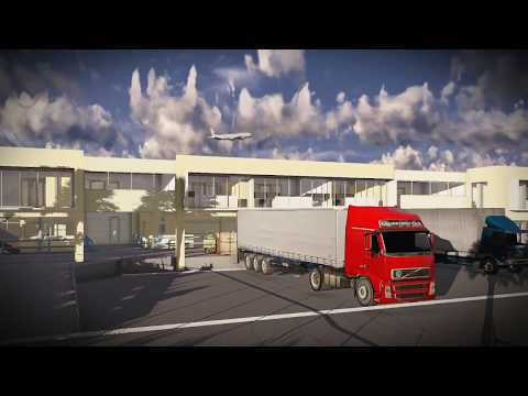 Airport Cargo Building with offices Aruba