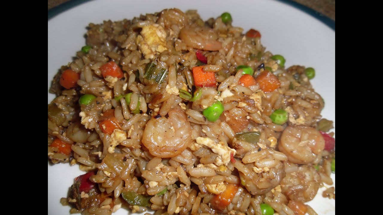 Easy shrimp fried rice youtube easy shrimp fried rice food porn network forumfinder Images