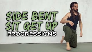 Side Bent Sit Get Up Progressions (Natural Movement Skill)