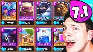 FAN-MADE GOLEM DECKS... NIGHTMARE!! (Clash Royale Nickatnyte)