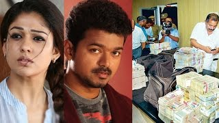 Income tax raid in office and houses of Vijay, Nayanthara and Samantha | Hot Cinema News
