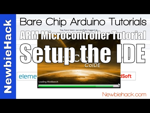 2. How to Set up the IDE (Integrated Development Environment) Tutorial for ARM Microcontrollers