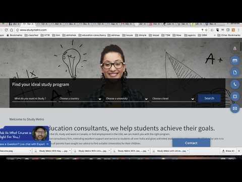 Study Abroad  | Study Metro New Portal Learning Webinar