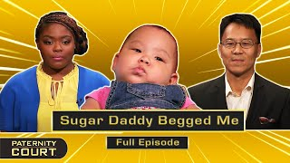 Sugar Daddy Begged Me: 20-Year Age Gap Is Nothing For 18-Year-Old (Full Episode)   Paternity Court