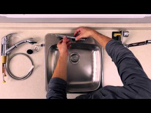 RONA - How to Install a Kitchen Faucet