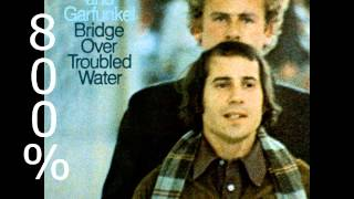 Bridge Over Troubled Water - Simon and Garfunkel [800% Slower]