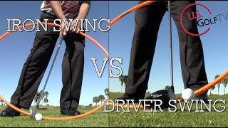 Gambar cover Driver Swing vs Iron Swing