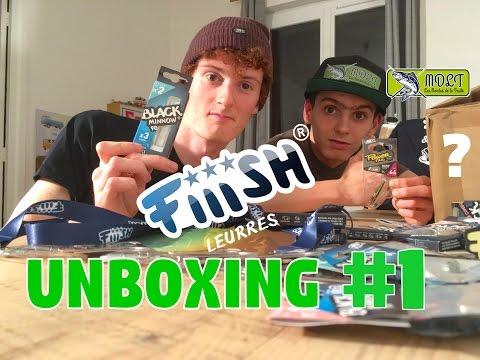 Nouveaux Leurres Fiiish ! Unboxing #1
